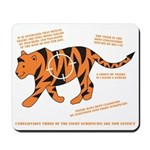 Tiger Facts Mousepad
