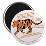 Tiger Facts Magnet