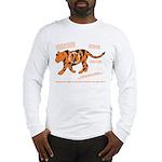 Tiger Facts Long Sleeve T-Shirt