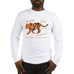 Tiger Facts Long Sleeve T-Shirt