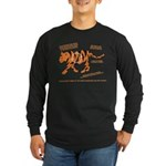 Tiger Facts Long Sleeve Dark T-Shirt