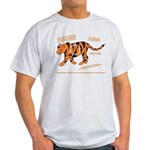 Tiger Facts Light T-Shirt