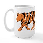 Tiger Facts Large Mug