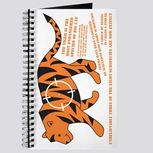 Tiger Facts Journal
