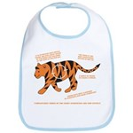 Tiger Facts Bib