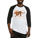 Tiger Facts Baseball Jersey