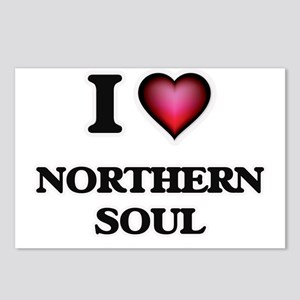I Love NORTHERN SOUL Postcards (Package of 8)