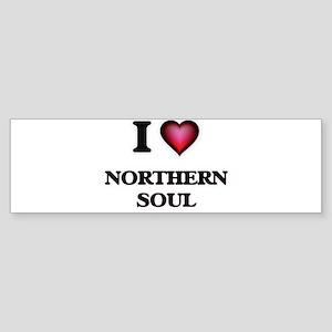 I Love NORTHERN SOUL Bumper Sticker
