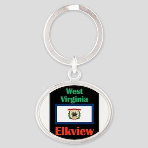 Elkview West Virginia Keychains