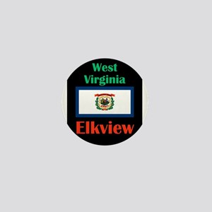 Elkview West Virginia Mini Button
