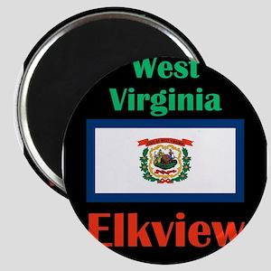 Elkview West Virginia Magnets