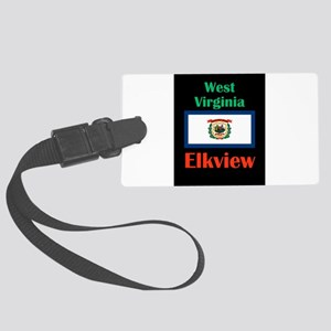 Elkview West Virginia Luggage Tag