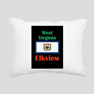 Elkview West Virginia Rectangular Canvas Pillow