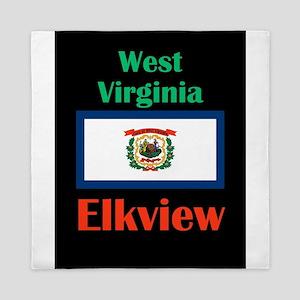 Elkview West Virginia Queen Duvet