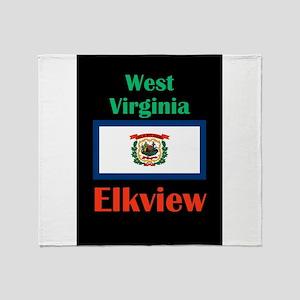 Elkview West Virginia Throw Blanket