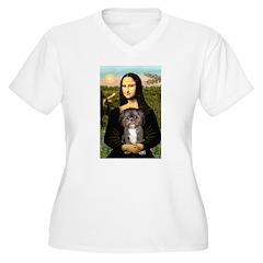 Mona / Shih Tzu(br&w) T-Shirt