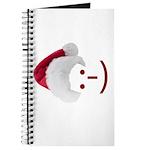 Smiley Emoticon - Santa Hat Journal