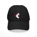 Smiley Emoticon - Santa Hat Black Cap
