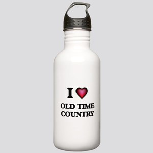 I Love OLD TIME COUNTR Stainless Water Bottle 1.0L