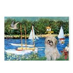 Bassin/Shih Tzu (P) Postcards (Package of 8)