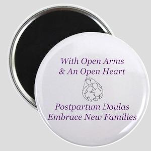Postpartum Doulas Embrace Magnet