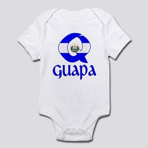 Qguapa_ElSalvador_Bandera Body Suit