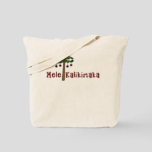 Hawaiian Christmas Tote Bag