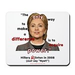 Hillary Power Hungry Mousepad