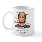 Hillary Power Hungry Mug