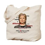 Hillary Power Hungry Tote Bag