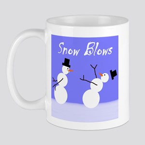 Snow Blows Mug