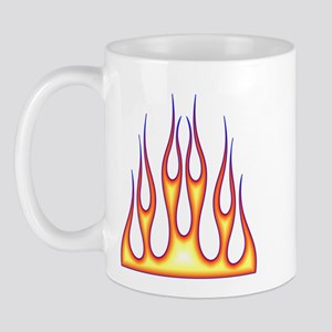 Old School Flame Job Mug