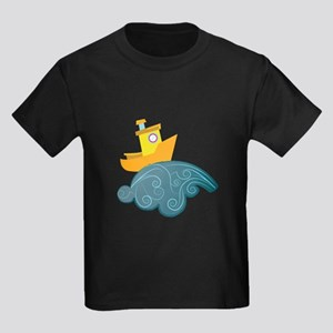 Boat On Wave T-Shirt