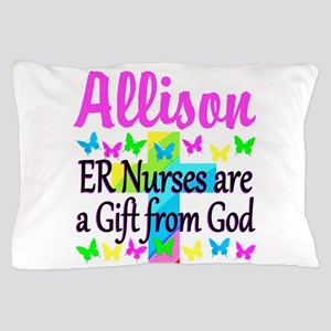 ER NURSE PRAYER Pillow Case