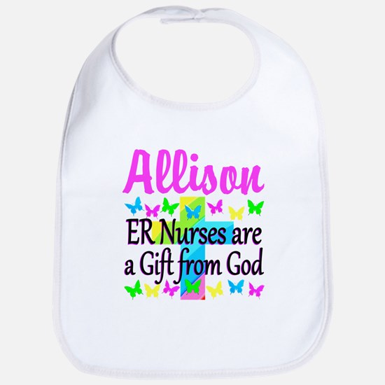 ER NURSE PRAYER Bib
