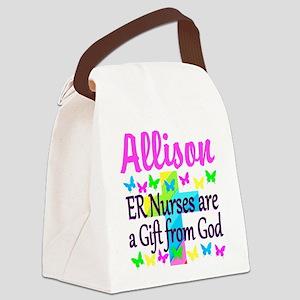 ER NURSE PRAYER Canvas Lunch Bag