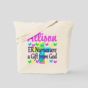 ER NURSE PRAYER Tote Bag