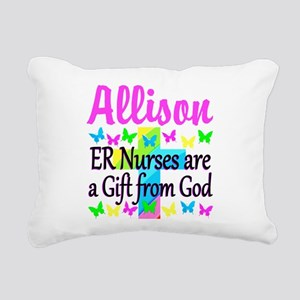 ER NURSE PRAYER Rectangular Canvas Pillow