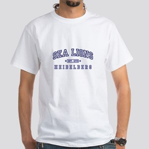 Sea Lions White T-Shirt