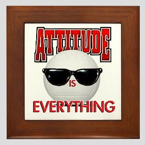 Attitude is Everything Framed Tile