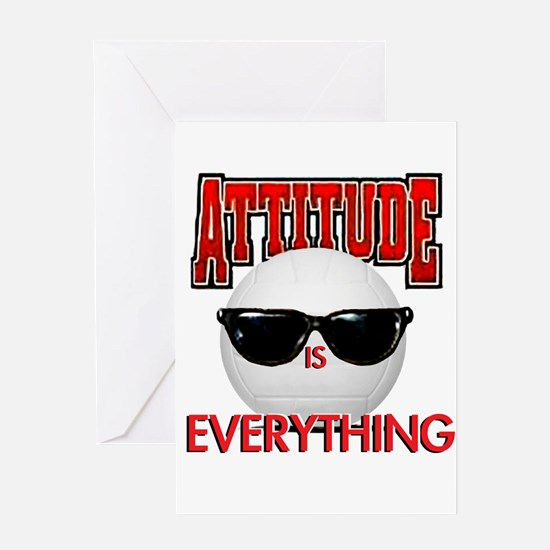 Attitude is Everything Greeting Card