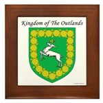 Queen of the Outlands Framed Tile