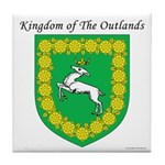 Queen of the Outlands Tile Coaster