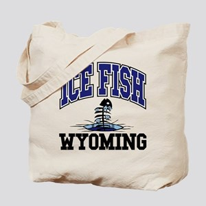 Ice Fish Wyoming Tote Bag