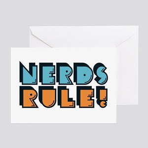 Nerds Rule! Greeting Cards (Pk of 10)