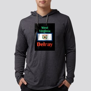 Delray West Virginia Long Sleeve T-Shirt