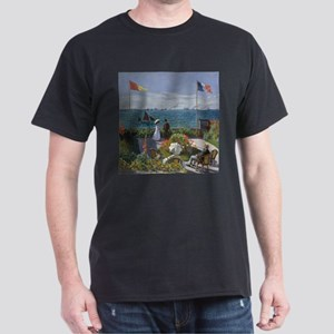 Claude Monet Jardin a Sainte Adresse T-Shirt