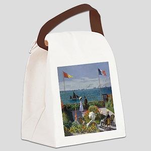 Claude Monet Jardin a Sainte Adresse Canvas Lunch
