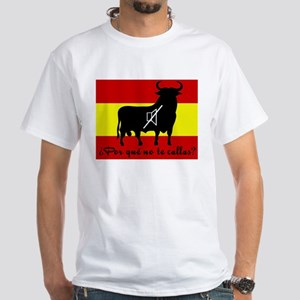 Camiseta blanca toro españa