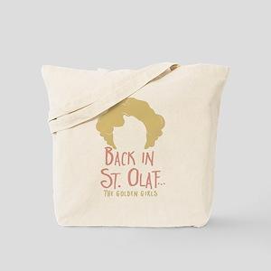 Back In St Olaf Tote Bag